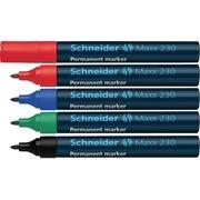 Schneider Maxx 280 Permanentmarker schwarz 4-12mm Keilspitze 50-128001